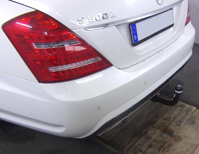 Anhängerkupplung für Mercedes-S- Klasse - 2006- W221, spez. m. AMG Sport o. Styling Paket Ausf.:  vertikal