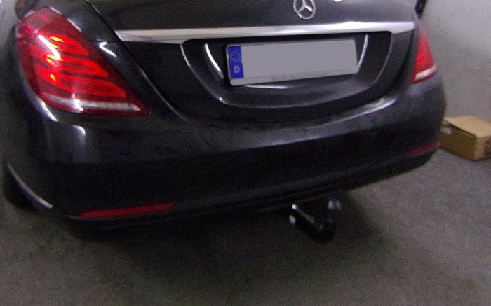 Anhängerkupplung für Mercedes-S- Klasse - 2013-2017 W222 Ausf.:  vertikal