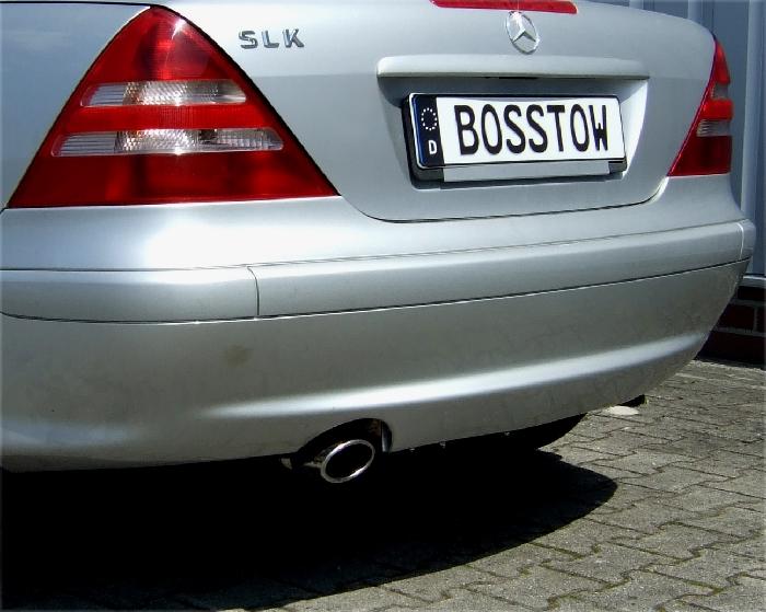 Anhängerkupplung Mercedes-SLK R170 nur für Heckträgerbetrieb, Baujahr 1996- Ausf.:  vertikal