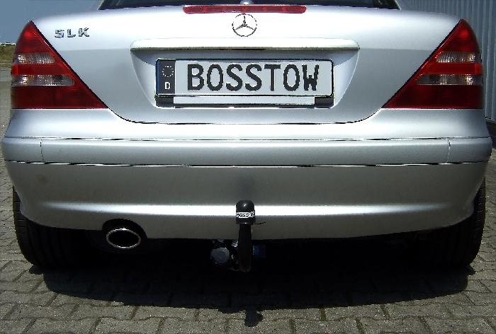 Anhängerkupplung für Mercedes-SLK - 1996- R170 nur für Heckträgerbetrieb Ausf.:  vertikal