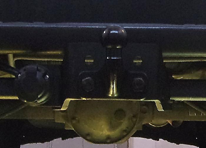 Anhängerkupplung für Mercedes-Sprinter Kastenwagen Heckantrieb - 2006-2018 209-324, Radstd. 3665mm, Fzg. mit Trittbrettst. Ausf.:  feststehend