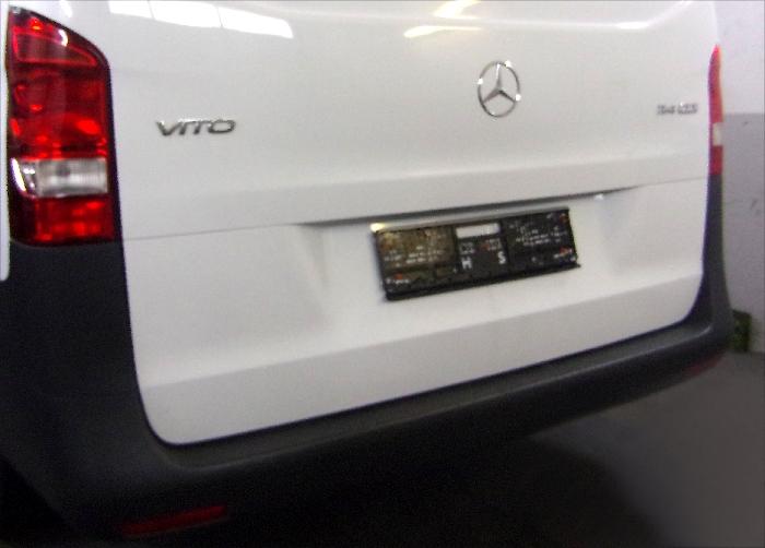 Anhängerkupplung Mercedes-Vito W447, Baujahr 2014- Ausf.:  feststehend