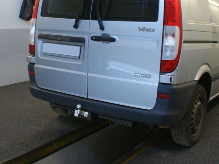 Anhängerkupplung Mercedes-Viano W639, Fzg. o. Elektrosatz-Vorbereitung, Baujahr 2005-2010