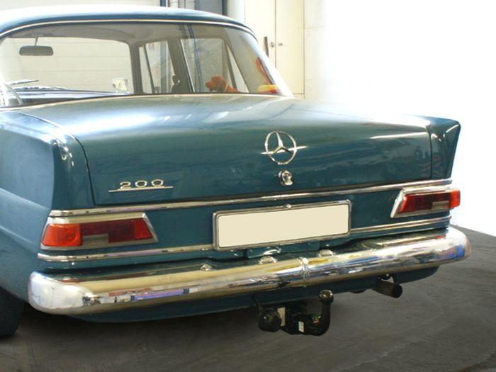 Anhängerkupplung Mercedes-190C/200/220B/220SEB/230/300SE, Heckflosse W110, W111, W112, Montage nur bei uns im Haus, Baujahr 1959-1968