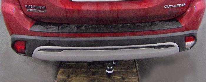 Anhängerkupplung Mitsubishi-Outlander III, 2WD u. 4WD, incl. PHEV, Baujahr 2012-