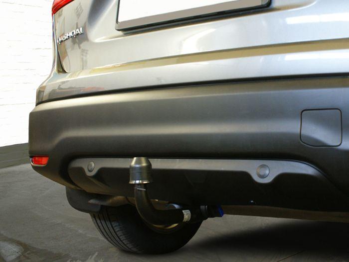 Anhängerkupplung für Nissan-Qashqai - 2007-2014 3-5 türig, auch +2 Ausf.:  vertikal