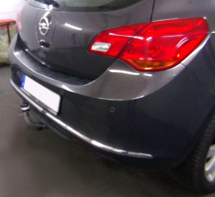 Anhängerkupplung für Opel-Astra - 2009- J, Fließheck Ausf.:  horizontal
