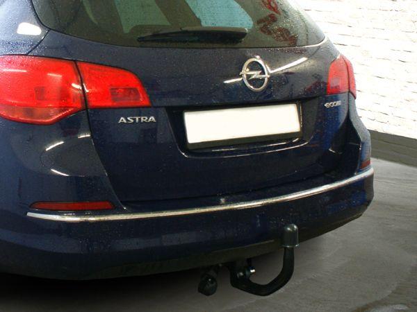 Anhängerkupplung Opel-Astra J, Kombi, Baujahr 2010-