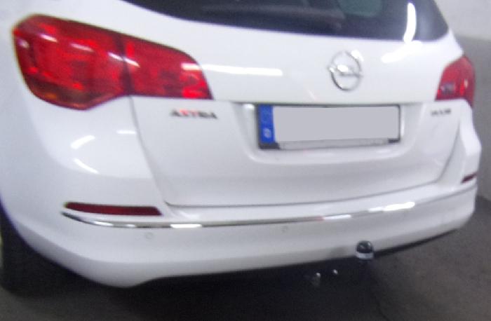 Anhängerkupplung für Opel-Astra - 2010- J, Kombi Ausf.:  feststehend