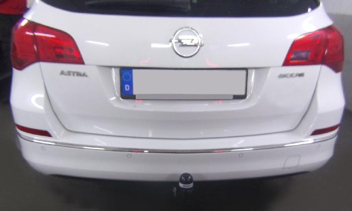 Anhängerkupplung Opel Astra J, Kombi, Baureihe 2010-  feststehend