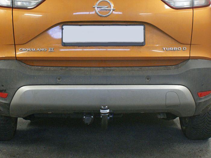 Anhängerkupplung für Opel-Crossland X - 2017- Ausf.:  vertikal