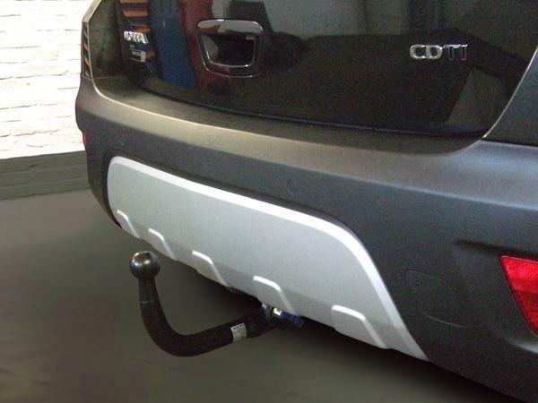 Anhängerkupplung Opel-Mokka X nicht für Fzg. mit Fahrradträgersystem Flex-Fix, Baujahr 2016-