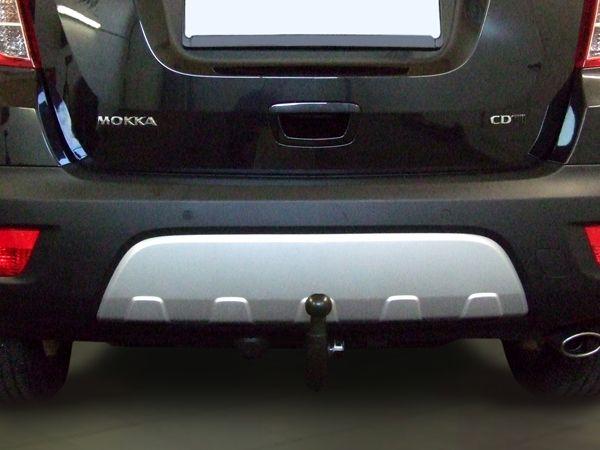Anhängerkupplung Opel-Mokka nicht für Fzg. mit Fahrradträgersystem Flex-Fix, Baujahr 2012-