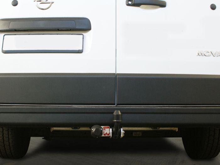 Anhängerkupplung für Opel-Movano - 2014- Kasten, Bus, Kombi, Frontantrieb, Fzg. mit Elektrosatz Vorbereitung Ausf.:  feststehend
