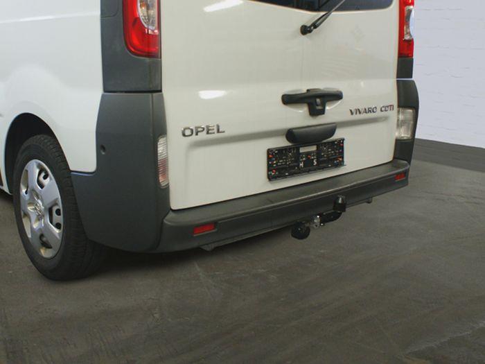 Anhängerkupplung für Opel-Vivaro - 2003-2006 Kasten/ Bus/ Kombi Ausf.:  feststehend