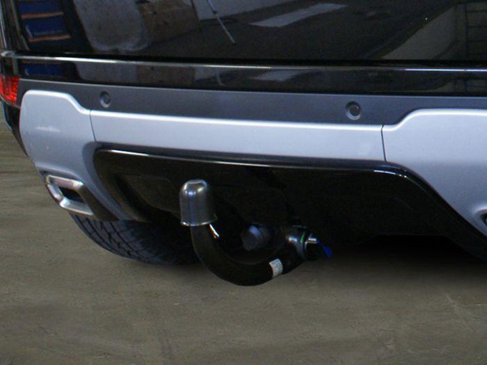 Anhängerkupplung Landrover-Range-Rover Evoque, Baujahr 2011- Ausf.:  vertikal