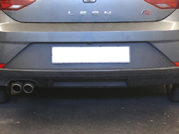 Anhängerkupplung für Seat-Leon - 2012-2014 Fließheck Typ 5F Ausf.:  vertikal