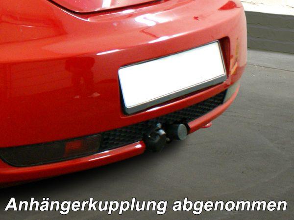 Anhängerkupplung für VW-Beetle - 2005-2011 incl. Cabrio, nicht für Fzg. mit Parktronic Ausf.:  horizontal