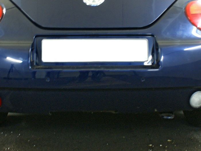 Anhängerkupplung VW-Beetle incl. Cabrio, nicht für Fzg. mit Parktronic, Baujahr 2003-2004