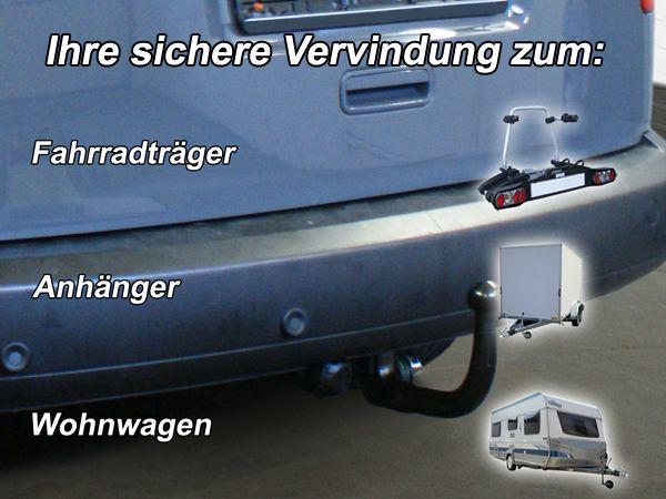 Anhängerkupplung VW-Caddy Allrad, 4x4, Baujahr 2008-2015