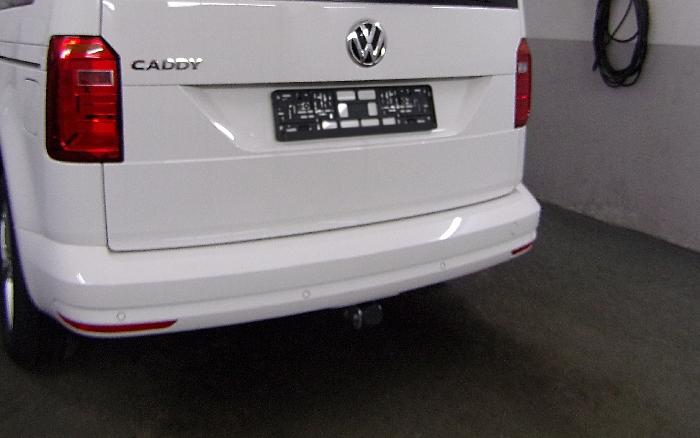 Anhängerkupplung VW-Caddy IV, Maxi mit Benzin- o. Dieselmotor, Baujahr 2015-2020