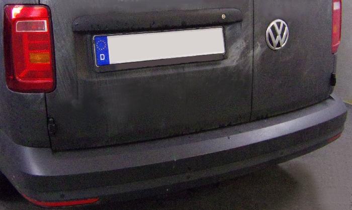 Anhängerkupplung VW-Caddy IV, Kasten/ Bus/ Kombi, Baujahr 2015-2020 Ausf.:  vertikal