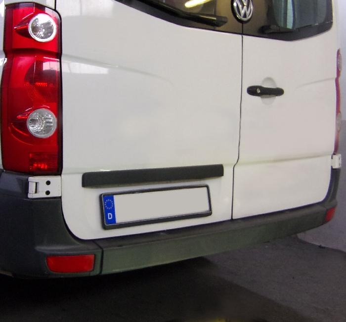 Anhängerkupplung VW-Crafter I 30-35, Kasten, Radstd. 3665mm, Fzg. ohne Trittbrettst., Baujahr 2006-2017 Ausf.:  feststehend