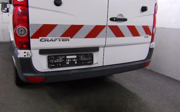 Anhängerkupplung VW-Crafter I 30-35, Kasten, Radstd. 3665mm, Fzg. ohne Trittbrettst., Baujahr 2006-2017
