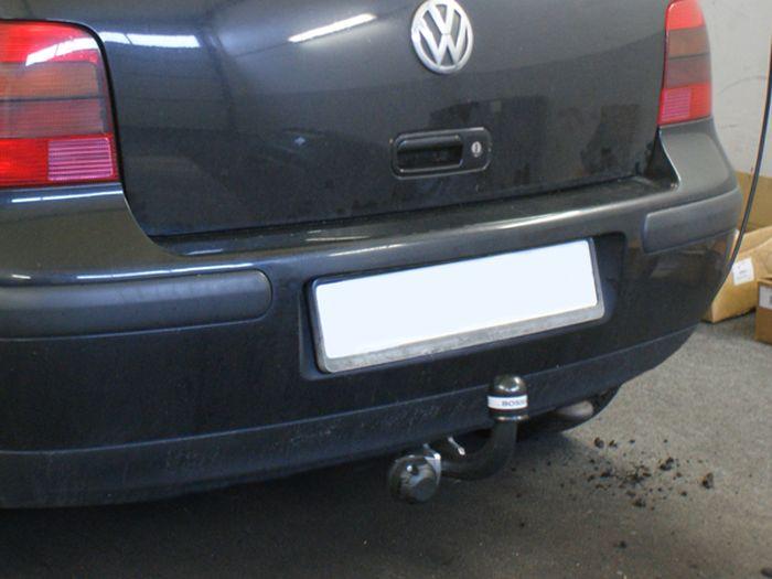 Anhängerkupplung für VW-Bora - 1998- Lim. nicht 4x4 Ausf.:  feststehend