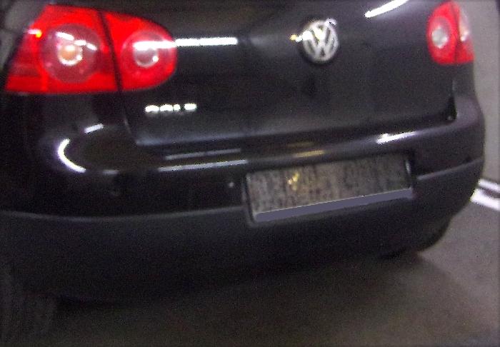 Anhängerkupplung für VW-Golf - 2003- V, Limousine, nicht 4x4 Ausf.:  feststehend