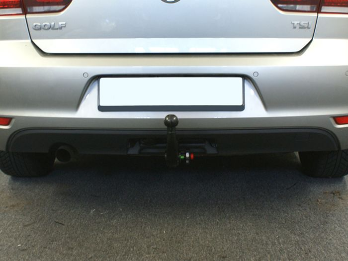 Anhängerkupplung für VW-Golf - 2011- VI Cabrio Ausf.:  vertikal