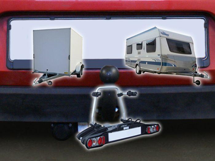 Anhängerkupplung für VW-Golf - 2011- VI Cabrio Ausf.:  feststehend