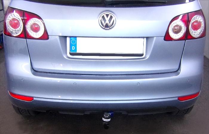 Anhängerkupplung für VW-Golf - 2008- VI Plus Ausf.:  vertikal
