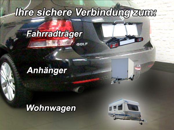 Anhängerkupplung für VW-Golf - 2009- VI, Variant Ausf.:  vertikal