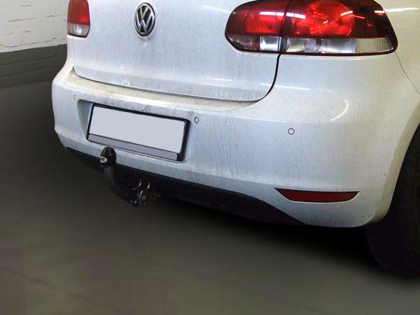 Anhängerkupplung für VW-Golf VI Limousine, nicht 4x4, Baujahr 2008-