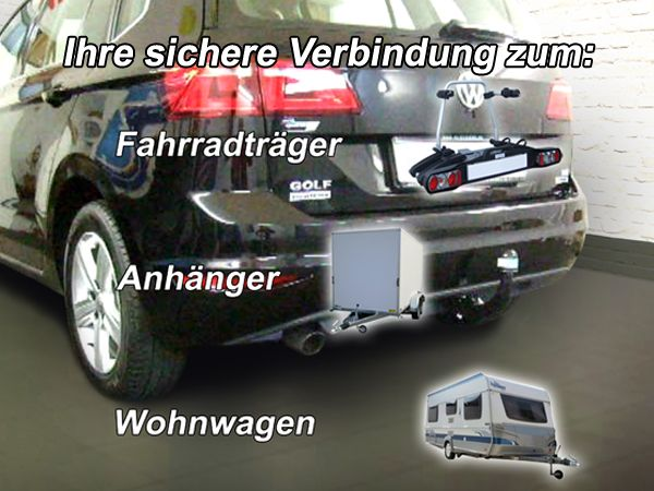 anh ngerkupplung vw golf vii sportsvan fzg mit e satz. Black Bedroom Furniture Sets. Home Design Ideas