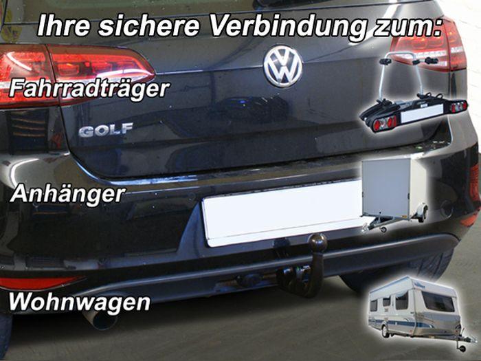 Anhängerkupplung VW-Golf VII Limousine, nicht 4x4, speziell für R-Line, Baujahr 2017-