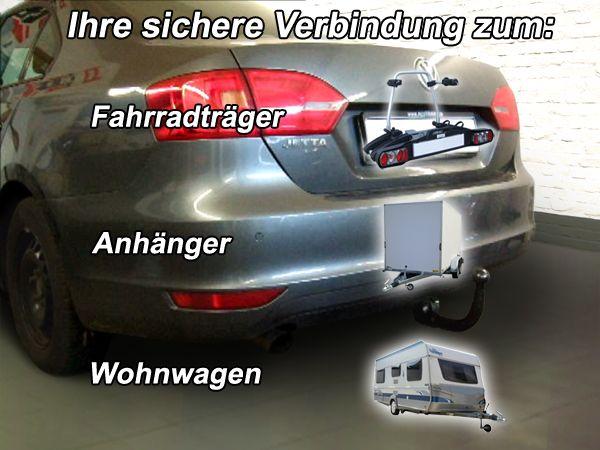 Anhängerkupplung für VW-Jetta - 2011-2014 IV Ausf.:  vertikal