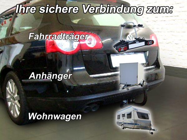 Anhängerkupplung für VW-Passat - 2005-2010 3c, incl. 4-Motion, Variant Ausf.:  vertikal