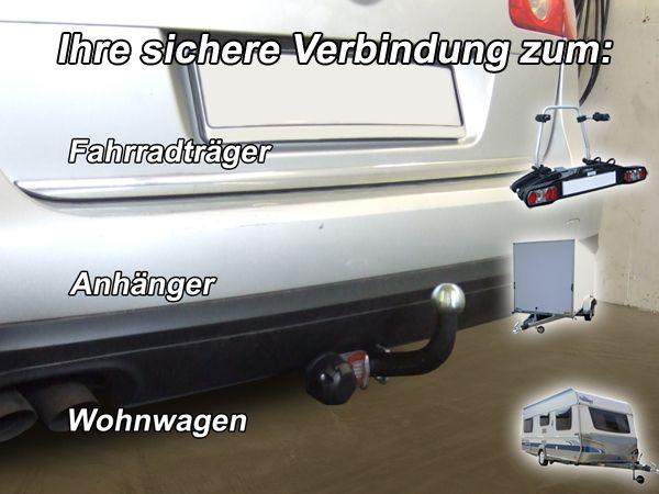 Anhängerkupplung für VW-Passat 3c, incl. 4-Motion, Variant, Baujahr 2005-2010