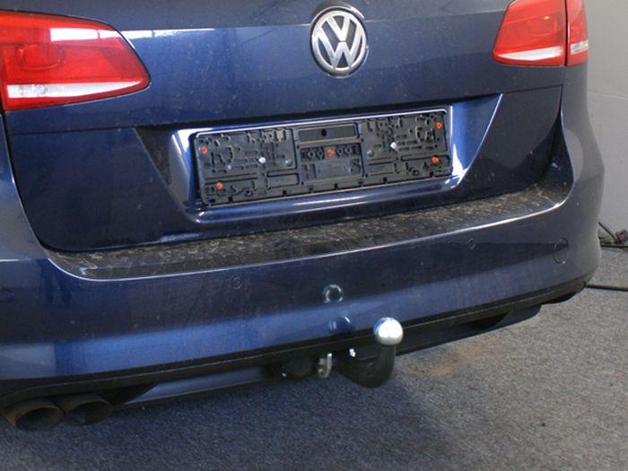 Anhängerkupplung für VW-Passat - 2012-2014 3c, spez. Alltrack Variant Ausf.:  feststehend