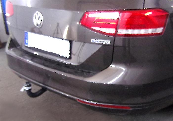 Anhängerkupplung für VW-Passat - 2014- 3c, incl. 4-Motion, Variant Ausf.:  feststehend