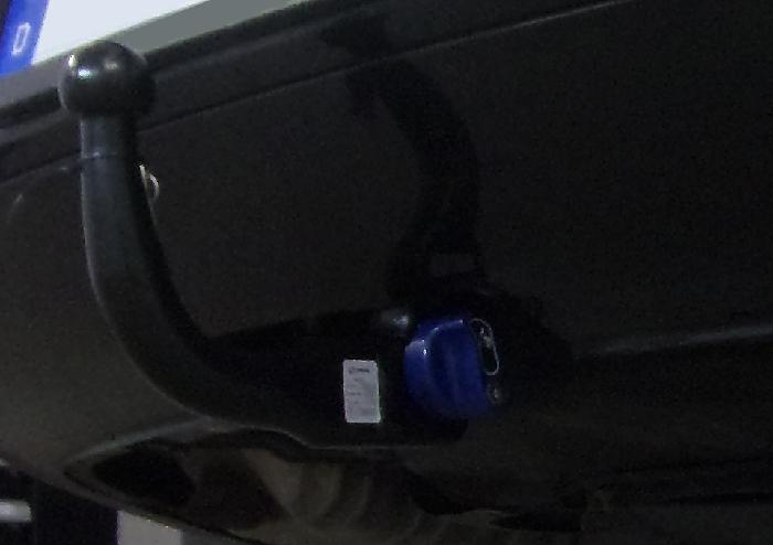 Anhängerkupplung für VW-Phaeton - 2008- 3d, Limousine Ausf.:  vertikal