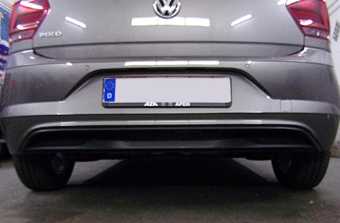 Anhängerkupplung für VW-Polo - 2017- (AW) Schrägheck Ausf.:  vertikal