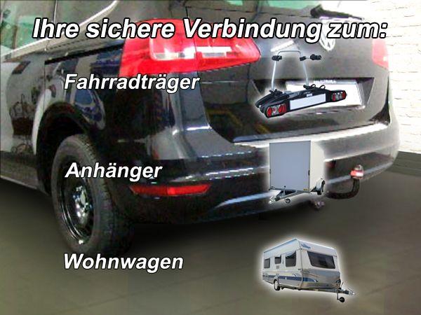 Anhängerkupplung VW Sharan inkl. 4x4, Baureihe 2010-2012  feststehend