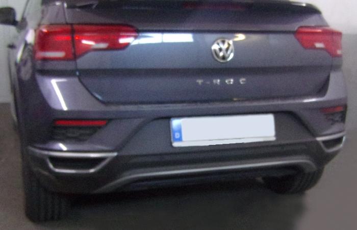 Anhängerkupplung VW-T-roc Cabrio, Baujahr 2017- Ausf.:  vertikal