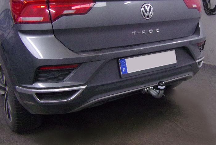 Anhängerkupplung VW-T-roc - 2017-