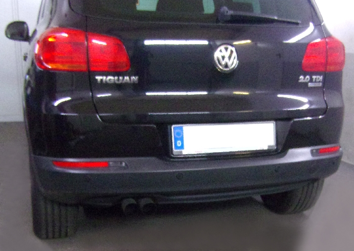 Anhängerkupplung VW Tiguan, Baureihe 2007-2015  feststehend