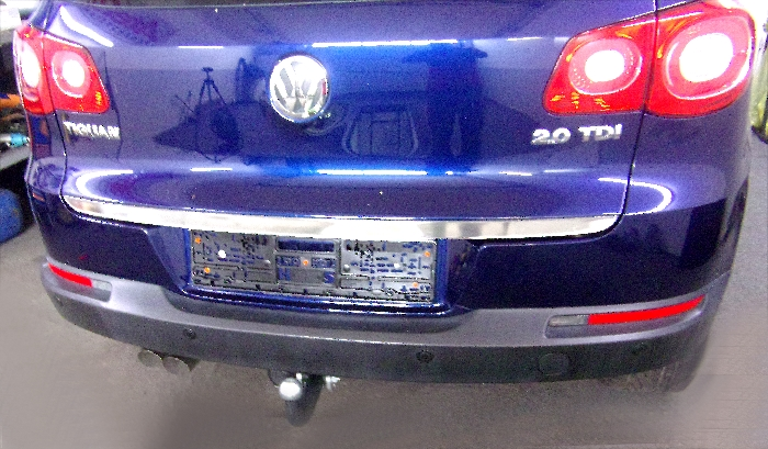 Anhängerkupplung für VW-Tiguan - 2007-2015 Ausf.:  feststehend