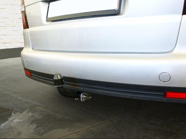 Anhängerkupplung für VW-Touran - 2007-2010 Van, spez. 5 Sitzer m. Erdgas(Ecofuel) Ausf.:  feststehend